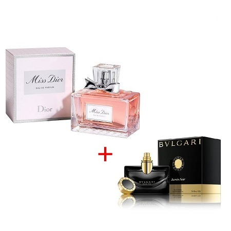 Jasmin Noir by Bvlgari 100ml + Miss Dior (2012) by Christian Dior 100ml
