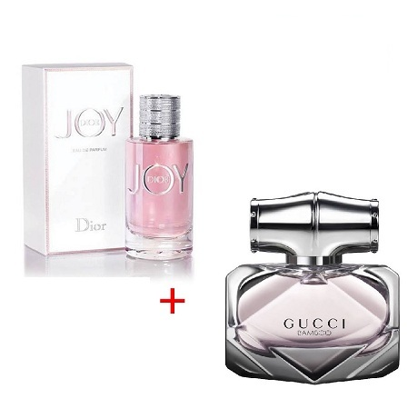 Joy by Dior by Christian Dior 100ml + Gucci Bamboo by Gucci 80ml