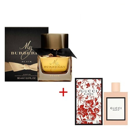 My Burberry Black by Burberry 90ml + Gucci Bloom by Gucci 100ml