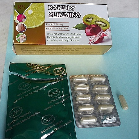 RS Rapidly Slimming Tablets - 30 Pieces
