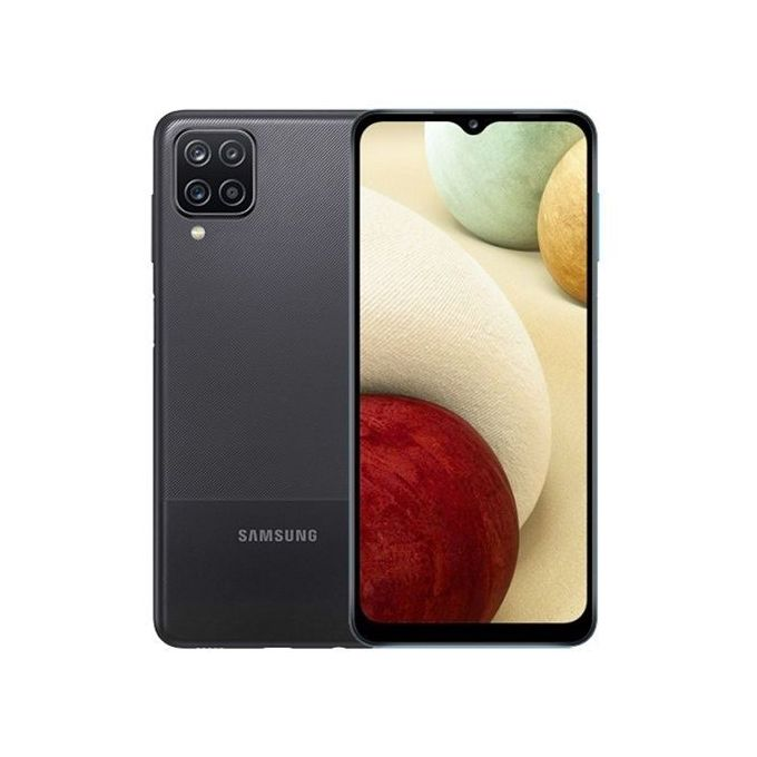 Samsung Galaxy A12, 6.5 Inch, 4 GB + 64 GB (Dual SIM) - Black