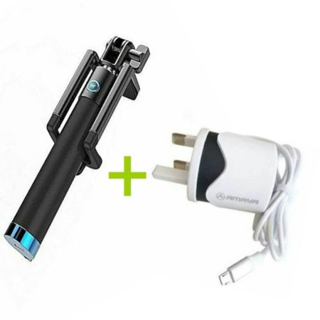 Selfie Stick Plus Free Android Charger