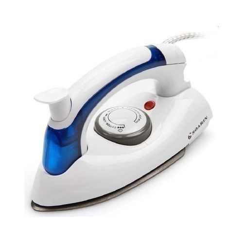 Soarin Easy Portable Foldable-Travel - Steam Iron - White & Blue