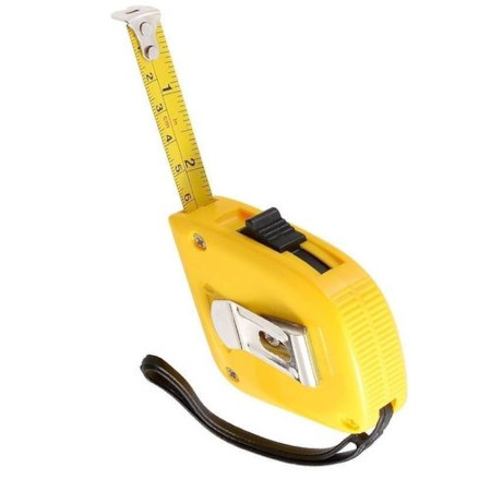 Tape Measure -5 Mtrs - Yellow