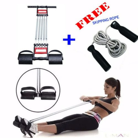 Tummy Trimmer + FREE Skipping Rope With Digital Counter