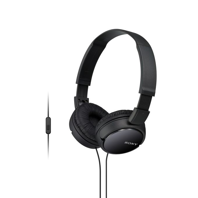 Sony MDR-ZX110 Wired Headphones - Black