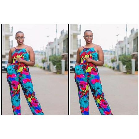 Fashion Blue- Pink Multicoloured Floral Jumpsuit
