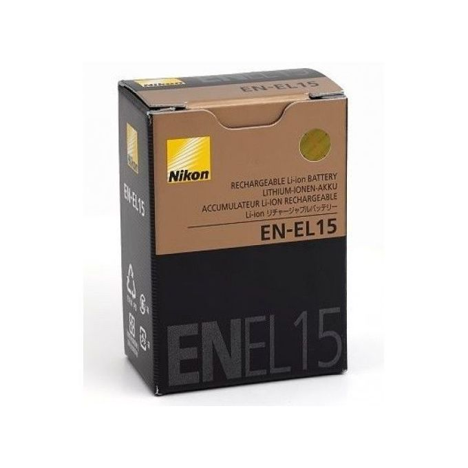 Nikon EN-EL15 Rechargeable Battery for Nikon