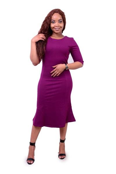Purple Trumpet official dress