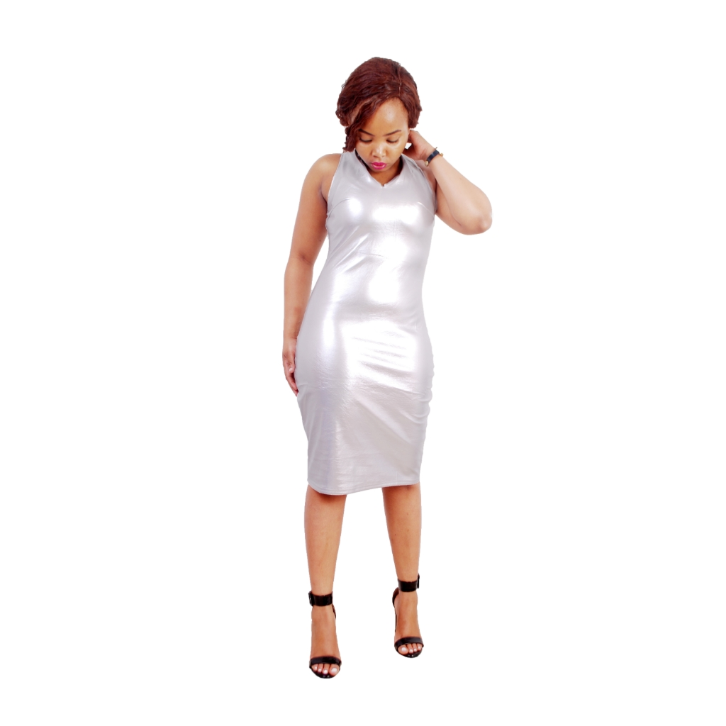 White party bodycon dress