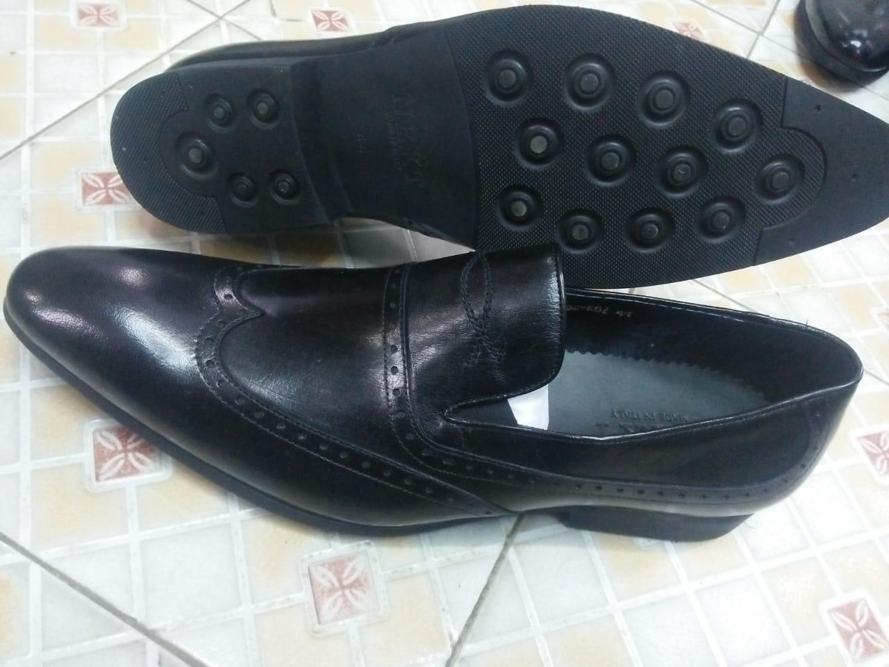 Mens official black shoes