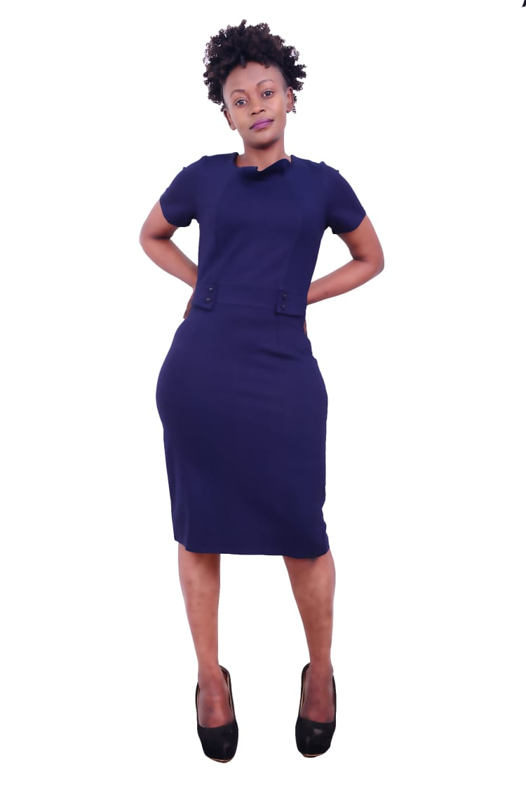 Navy blue Official womens Dress