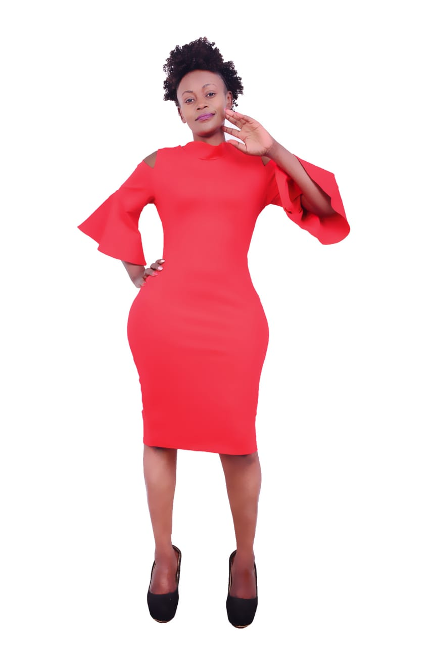 Red Official womens Dress