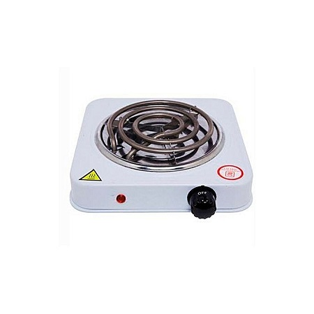 Family Home 1000W Single Coiled Burner-Electric Hot Plate