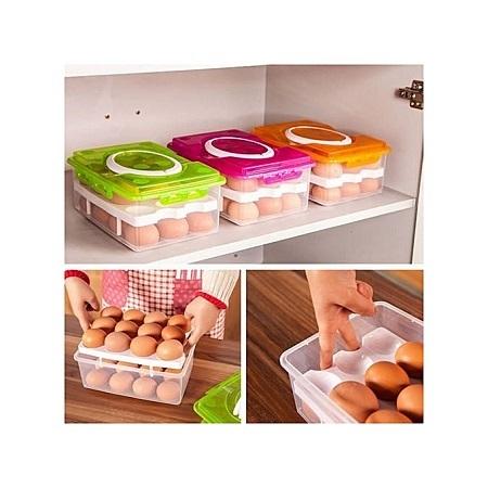 Generic 24 Grid Eggs Organizer
