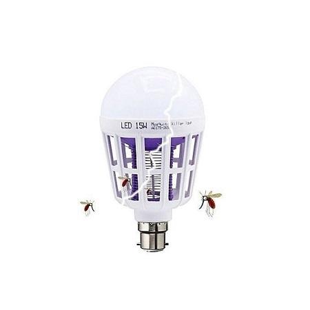 Generic 2 in 1 Mosquito Killer LED 15w Bulb/Lamp (Pin)