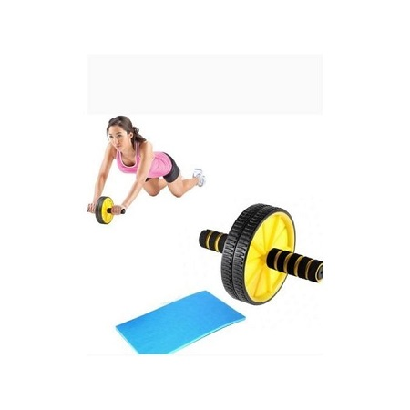 Generic ABS Wheel Abdominal Roller Workout Exercise Arm And Waist Fitness Exerciser