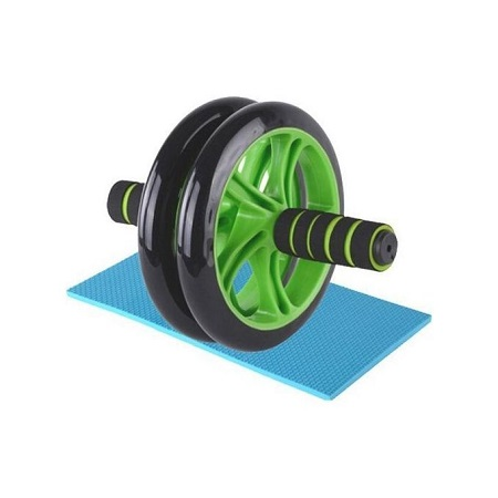 Generic Abs Roller Workout Arm And Waist Fitness Exerciser Wheel (Free Knee Mat)