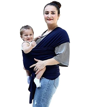 Generic Baby Carrier/baby wrap - Blue
