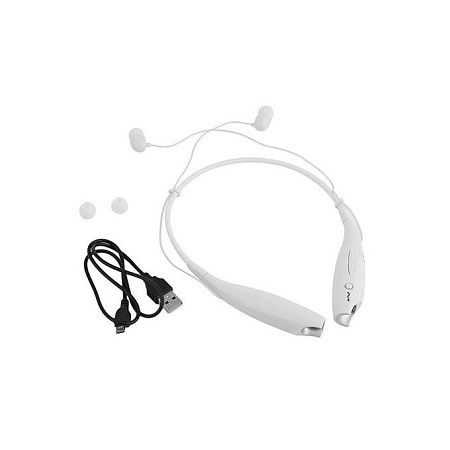Generic HBS-730 Wireless Bluetooth 4.0 Headset Earphone - White