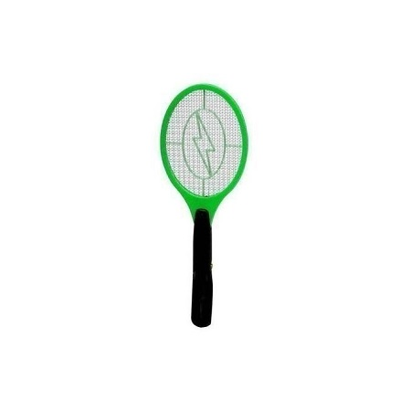 Generic Rechargeable Electronic Mosquito Racket killer - Green