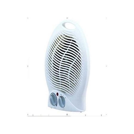 Generic Room Fan Heater- White.