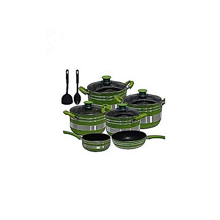 Generic Non Stick Cookware Set - 8 Pieces
