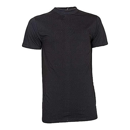 Generic Black Round Neck T-Shirt