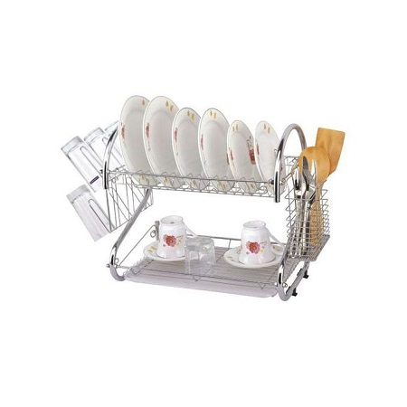 2Tier Dish Drainer/Drying Rack