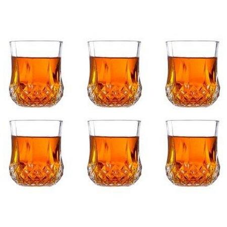 6-Set Water/Whiskey Glasses