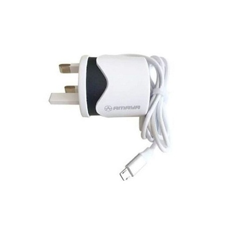 Amaya Android Charger - White