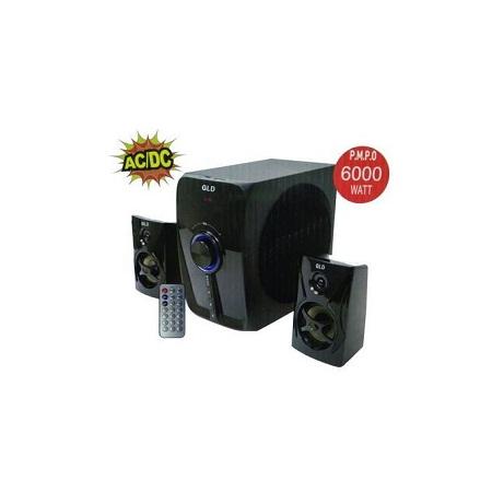 Gld GL003- 2.1CH Subwoofer - Bluetooth -FM -6000W