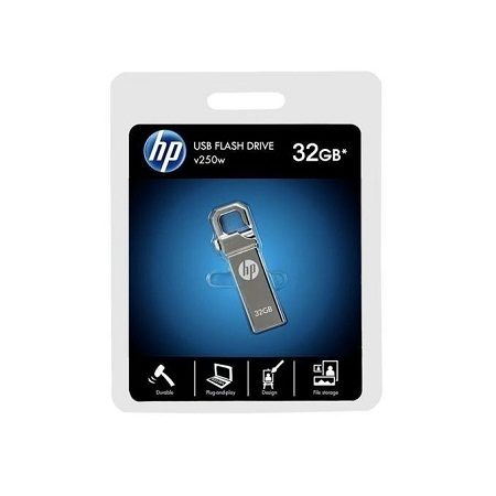 HP Flash Disk Drive - 32GB - Silver