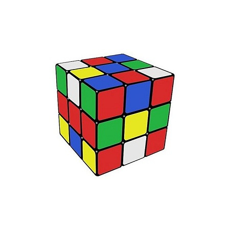 Magic Rubik's Cube Solving Puzzle Game