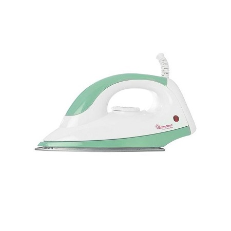 Ramtons RM/180- Dry Iron - 1100W - White & Green.