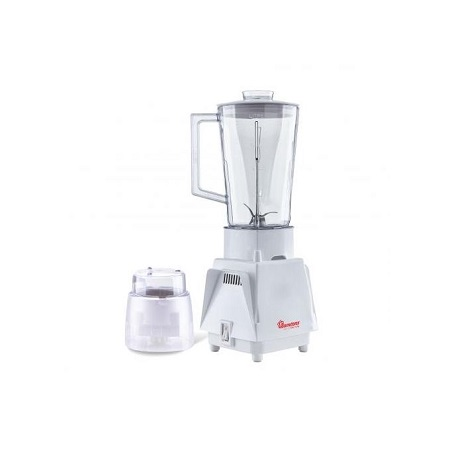 Ramtons RM/498- Blender + Mill 1.25 Litres, 1 Speed- White.