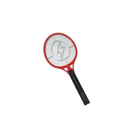 Rechargeable Electronic Mosquito Racket - Red