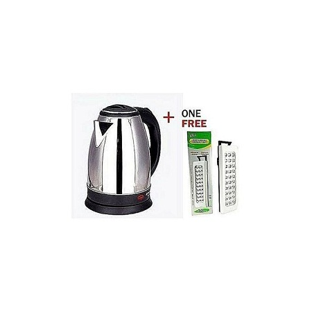 Scarlett Nite Electric Kettle + FREE RECHARGEABLE LAMP