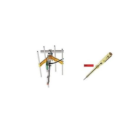Digital TV Aerial + FREE Voltage Tester