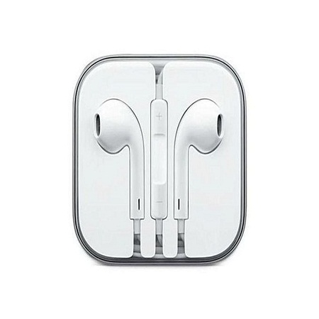 Earphones for iPhone, Android phones - White