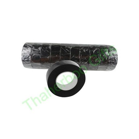 10 pcs PVC Insulation Tape Strong Adhesive for repair -black