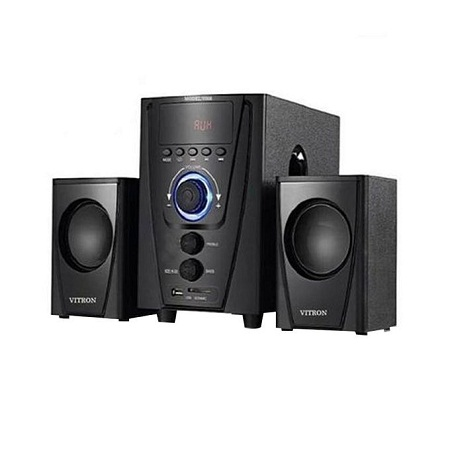 Vitron V008 2.1CH Multimedia Speaker System - Black