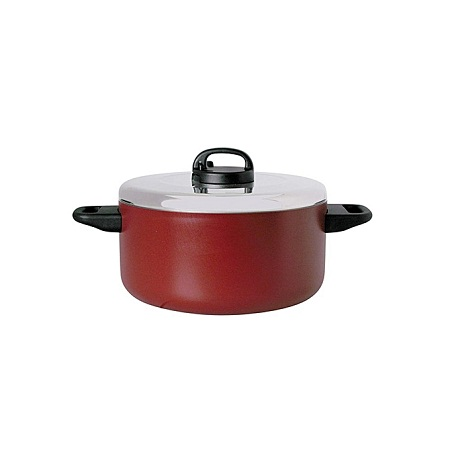 Prestige 24cm Saucepan with Two handle and Aluminium Lid