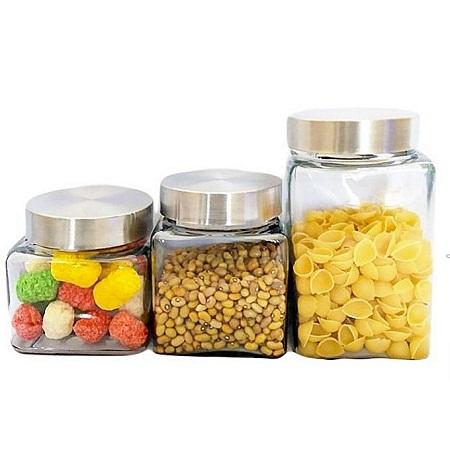 Generic 3Piece Canister Jar set