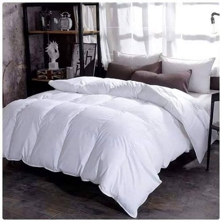 DUVET  Plain White