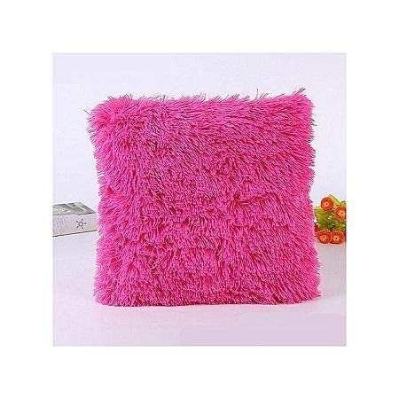 Decorative Fluffy Plush Throw Pillow Case Cushion Covers