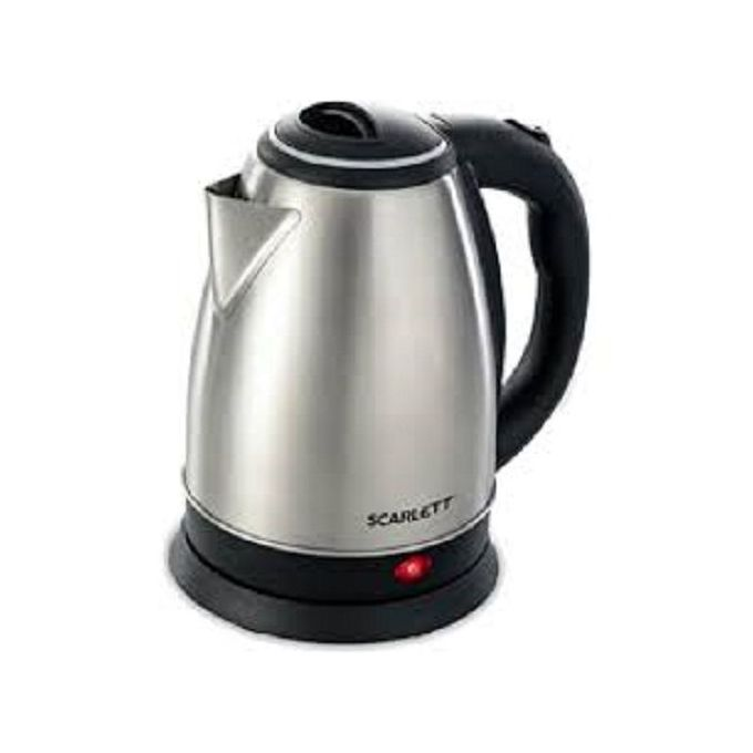 Scarlett Electric Kettle 2L - Silver & Black