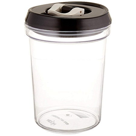 Generic 2pc set Airtight Containers, Clear, 1000 ml