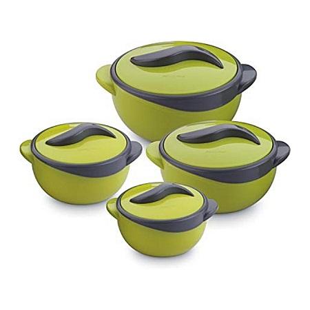 Pinnacle 4PC Solid Green Hot Pot