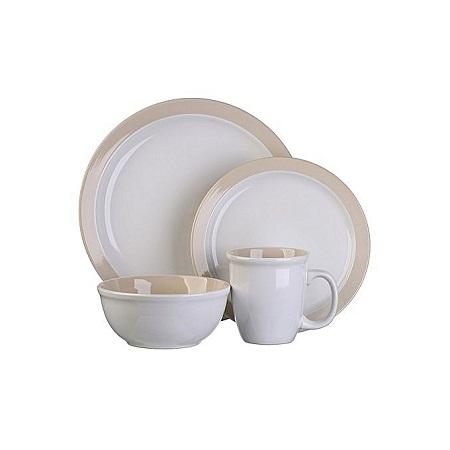 Thomson pottery 16pc Dinner set Urban White